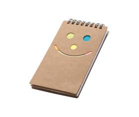 Notitieboekje met een smile