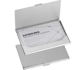 Aluminium visitenkaarthouder
