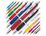 Pen met zilveren metalen clip