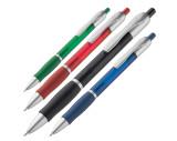 Kunststof pen met drukmechanisme